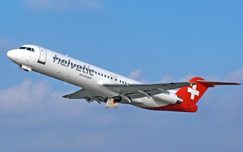 Helvetic Airways Calvi - Berne